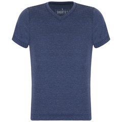 Navy Blue Linen T-Shirt