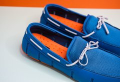Braided Lace Loafer Azul - comprar online