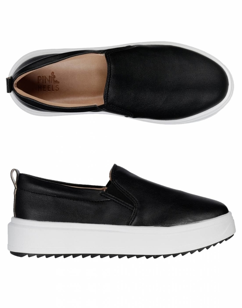 Slip On Gripped Black