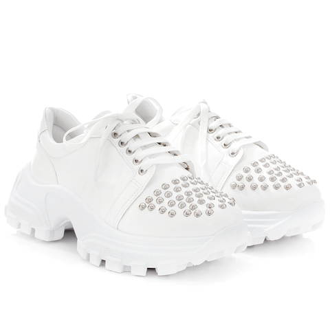 Tênis Studded White
