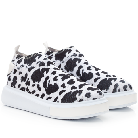 Sock Sneakers Cow