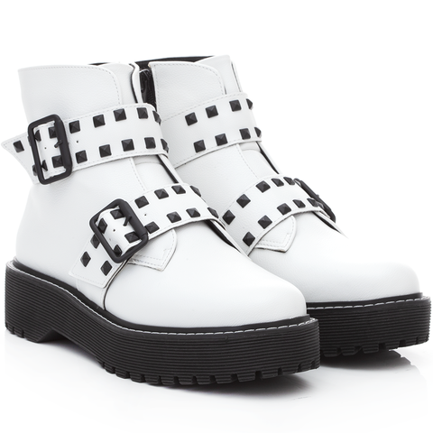 Gig Boots White