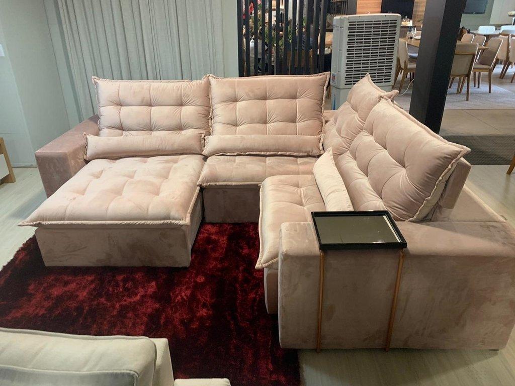 Sofa Retratil E Reclinavel Canto Franca