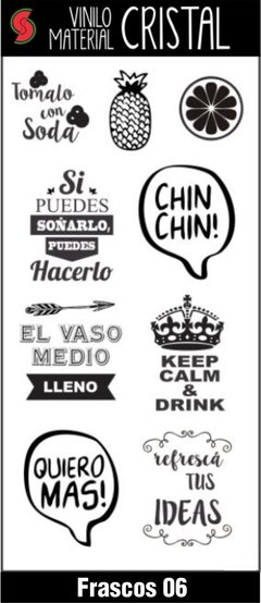 Stickers Frascos y Botellas en internet