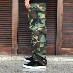 Calça Tupode - Carpenter Ripstop Camo - Gasoline Speed Shop