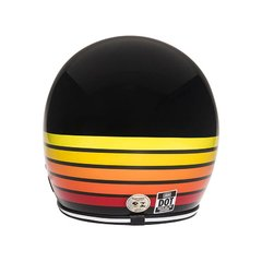 Capacete Urban - Fire Stripes - Gasoline Speed Shop