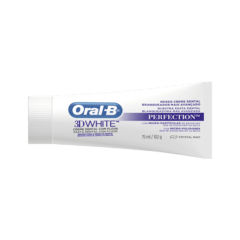 Creme Dental Oral B 3D White Perfection102G - comprar online