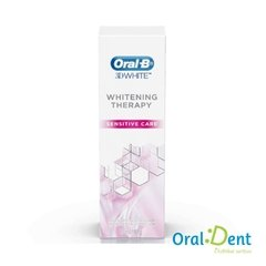 CREME DENTAL ORAL B 3D WHITE WHITENING THERAPY SENSITIVE CARE 90G