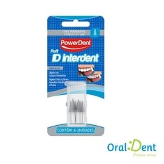 Escova Dental Interdental PowerDent Refil Conico - comprar online