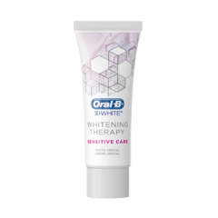 CREME DENTAL ORAL B 3D WHITE WHITENING THERAPY SENSITIVE CARE 90G - comprar online