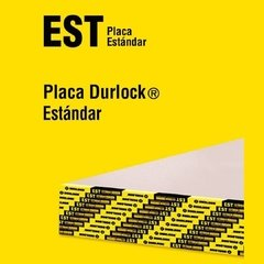 PLACA YESO ESTANDARD 9.5MM - 1.20X2.40 DURLOCK