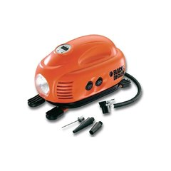 Inflador Compresor 12v Digital Asi200 Black And Decker