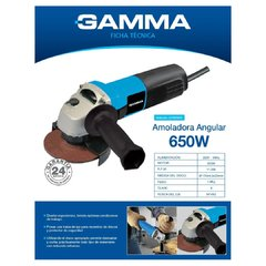 Amoladora Angular Gamma 115 Mm 4 1/2 G1909 + Regalos !! en internet
