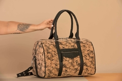 AMSTERDAM - Bolso Corcho y Piñatex® (XXL Cork and Pinatex Bag with Monogram)