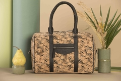 AMSTERDAM - Bolso Corcho y Piñatex® (XXL Cork and Pinatex Bag with Monogram) en internet