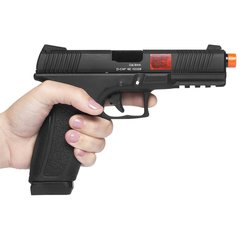 PISTOLA DE AIRSOFT À GÁS GBB CO2 ACAP COMBAT ADAPTIVE PISTOL BLACK BLOWBACK 6MM - APS CONCEPTION na internet