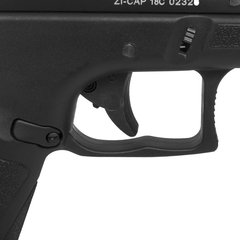 Imagem do PISTOLA DE AIRSOFT À GÁS GBB CO2 ACAP COMBAT ADAPTIVE PISTOL BLACK BLOWBACK 6MM - APS CONCEPTION