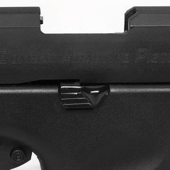 PISTOLA DE AIRSOFT À GÁS GBB CO2 ACAP COMBAT ADAPTIVE PISTOL BLACK BLOWBACK 6MM - APS CONCEPTION - comprar online