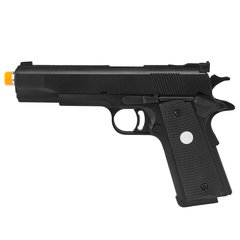 PISTOLA DE AIRSOFT À GÁS GBB GREEN GAS 1911 MKIV 70 BLACK FULL METAL BLOWBACK 6MM - ARMY