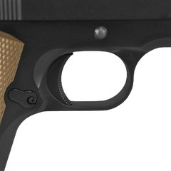 PISTOLA AIRSOFT À GÁS GREEN GÁS M1911 A1 BLACK FULL METAL BLOWBACK 6MM - ARMY - loja online