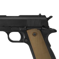 PISTOLA AIRSOFT À GÁS GREEN GÁS M1911 A1 BLACK FULL METAL BLOWBACK 6MM - ARMY - comprar online