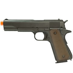 PISTOLA DE AIRSOFT À GÁS GBB GREEN GÁS M1911 A1 FULL METAL BLOWBACK 6MM - ARMY