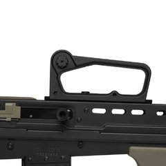 RIFLE DE AIRSOFT ELÉTRICO AEG R85A1 FULL METAL BLOWBACK 6MM - ARMY - loja online