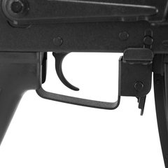 RIFLE DE AIRSOFT AEG AK74M COM MOUNT FULL METAL MADEIRA BLOWBACK 6MM - APS - comprar online