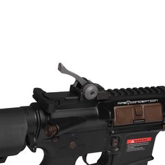 RIFLE AIRSOFT ELÉTRICO AEG M4 S.ARMATUS STYLE BK FULL METAL BLOWBACK 6MM - APS - comprar online