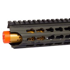 RIFLE AIRSOFT AEG M4 3GUN KEYMOD BLACK MULTICAM FULL METAL BLOWBACK 6MM - APS na internet