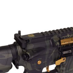 RIFLE AIRSOFT AEG M4 3GUN KEYMOD BLACK MULTICAM FULL METAL BLOWBACK 6MM - APS - comprar online