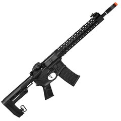 RIFLE DE AIRSOFT FER MOD 1 BLACK ELÉTRICO AEG 6MM APS CONCEPTION - comprar online
