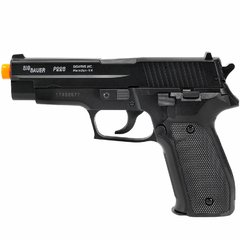 PISTOLA DE AIRSOFT SPRING SIG SAUER P226 SLIDE METAL 6MM - CYBERGUN