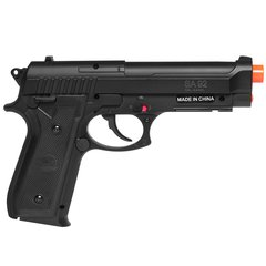 PISTOLA AIRGUN À GÁS CO2 SWISS ARMS PT92 BAX NYLON FIBER GNB 4,5MM - CYBERGUN - comprar online