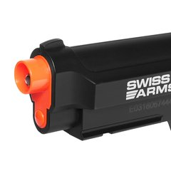 PISTOLA AIRGUN À GÁS CO2 SWISS ARMS PT92 BAX NYLON FIBER GNB 4,5MM - CYBERGUN - loja online