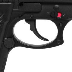 Imagem do PISTOLA AIRGUN À GÁS CO2 SWISS ARMS PT92 BAX NYLON FIBER GNB 4,5MM - CYBERGUN