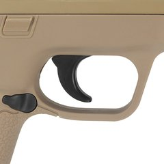 PISTOLA DE AIRSOFT SPRING MP40 G51D DESERT SLIDE METAL 6MM - GALAXY - comprar online