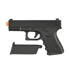 PISTOLA DE AIRSOFT SPRING G15 FULL METAL 6MM - GALAXY na internet