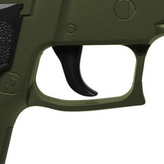 Imagem do PISTOLA DE AIRSOFT SPRING G26 SIG SAUER P226 G26G GREEN FULL METAL 6MM - GALAXY