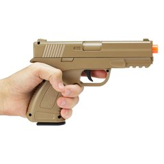 PISTOLA DE AIRSOFT SPRING G39D DESERT FULL METAL 6MM na internet