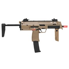 RIFLE DE AIRSOFT À GÁS GBB GREEN GÁS MP7 KAKI BLOWBACK 6MM H&K - comprar online