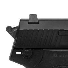 PISTOLA DE AIRSOFT À GÁS GBB GREEN GÁS USP BLACK BLOWBLACK 6MM - KWA