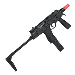 RIFLE DE AIRSOFT À GÁS GBB GREEN GÁS MP9 BLACK BLOWBACK 6MM - KSC - comprar online