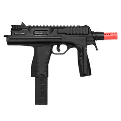 RIFLE DE AIRSOFT À GÁS GBB GREEN GÁS MP9 BLACK BLOWBACK 6MM - KSC - loja online