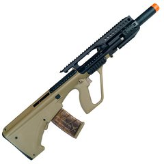 RIFLE DE AIRSOFT ELÉTRICO AEG AUG L RIS TACTICAL 6MM - APS CONCEPTION - comprar online