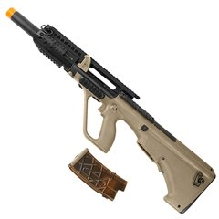 Imagem do RIFLE DE AIRSOFT ELÉTRICO AEG AUG L RIS TACTICAL 6MM - APS CONCEPTION