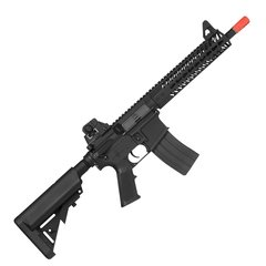 "RIFLE DE AIRSOFT ELÉTRICO AEG FULL METAL KR5 9"" 6MM - KWA - comprar online"