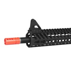 "Imagem do RIFLE DE AIRSOFT ELÉTRICO AEG FULL METAL KR5 9"" 6MM - KWA"