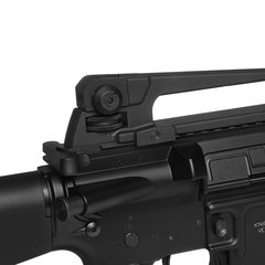 RIFLE DE AIRSOFT ELÉTRICO AEG M16 FULL METAL 6MM - KWA