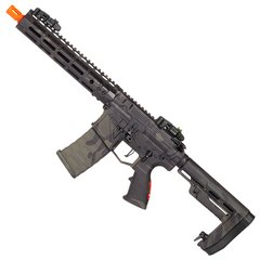 RIFLE DE AIRSOFT PHANTOM EXTREMIS MARK-V MULTICAM BLACK ELÉTRICO AEG 6MM APS CONCEPTION